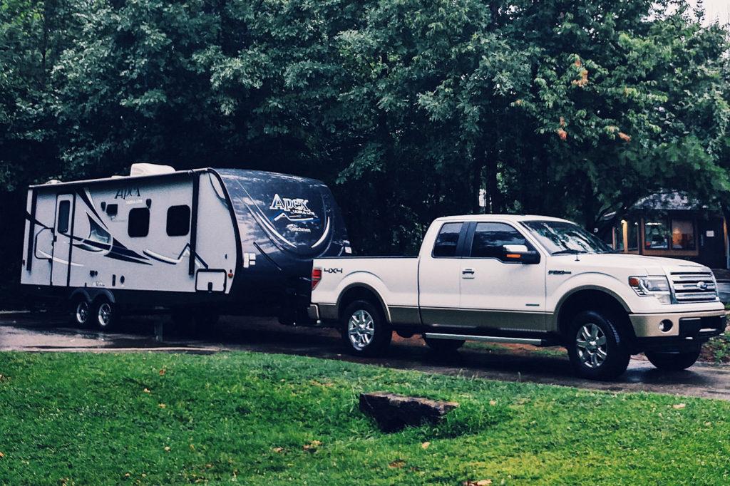 New setup! F-150 and Coachmen Apex 232RBS